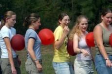 بالونات فريق العمل